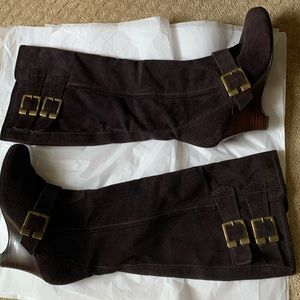 Naughty Monkey suede boots size 7.5